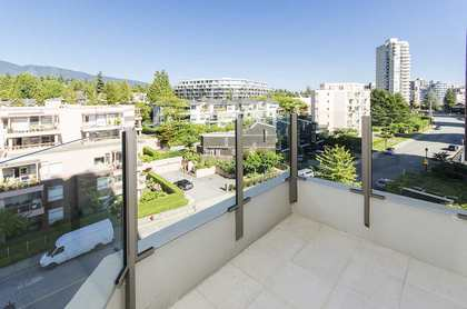 north view at 601 - 2280 Bellevue Avenue, Dundarave, West Vancouver