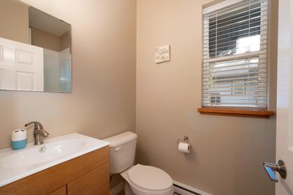 studio bathroom at 1227 Jefferson Avenue, Ambleside, West Vancouver
