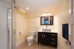 suite bathroom at 1227 Jefferson Avenue, Ambleside, West Vancouver