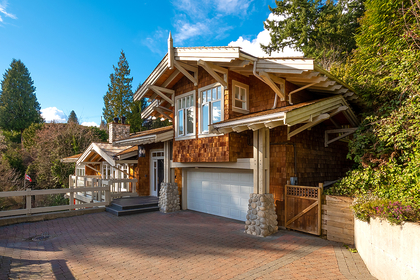 front of house at 2475 Palmerston Avenue, Dundarave, West Vancouver