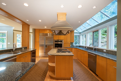 kitchen at 2475 Palmerston Avenue, Dundarave, West Vancouver