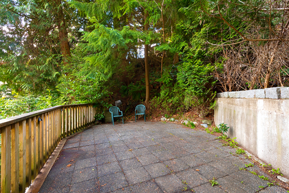 lookout from other side of bridge  at 2475 Palmerston Avenue, Dundarave, West Vancouver