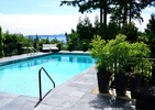 pool-summer at 4480 Keith Road, Caulfeild, West Vancouver