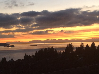 2418-palmerston-sunset at 2418 Palmerston Avenue, Dundarave, West Vancouver