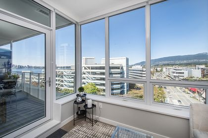 010 at 906 - 118 Carrie Cates Court, Lower Lonsdale, North Vancouver