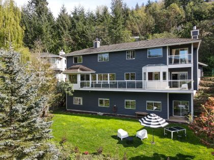 5485aerial-1 at 5485 Keith Road, Caulfeild, West Vancouver