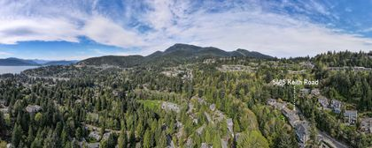 5485aerial-2 at 5485 Keith Road, Caulfeild, West Vancouver