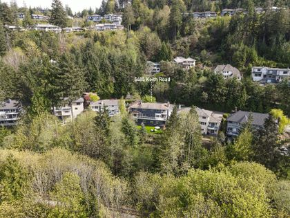 5485aerial-3 at 5485 Keith Road, Caulfeild, West Vancouver