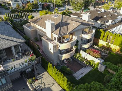 marineaerial-2 at 2526 Marine Drive, Dundarave, West Vancouver