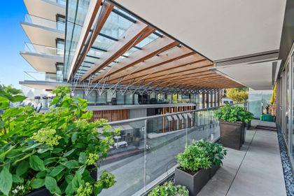 bellevue-patio-11 at 203 - 1327 Bellevue Avenue, Ambleside, West Vancouver