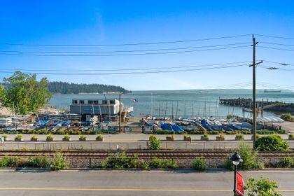 bellevue-patio-8 at 203 - 1327 Bellevue Avenue, Ambleside, West Vancouver