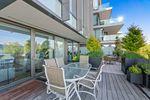 bellevue-patio-14 at 203 - 1327 Bellevue Avenue, Ambleside, West Vancouver