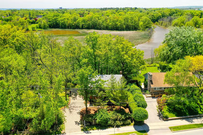 Aerial View of Property at 174 Bronte Road, Bronte West, Oakville