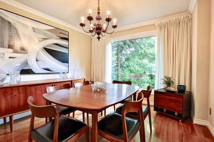 Dining Room at 243 Willowridge Court, Bronte East, Oakville