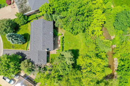 Aerial View of Property at 243 Willowridge Court, Bronte East, Oakville