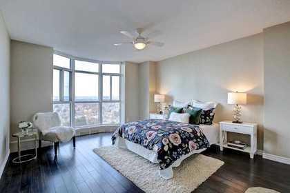 Master Bedroom at 1809 - 5250 Lakeshore Road, Appleby, Burlington