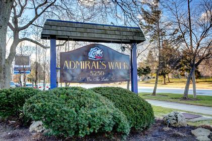 Admiral's Walk at 1809 - 5250 Lakeshore Road, Appleby, Burlington