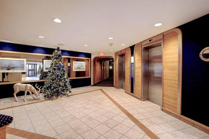 Building Foyer and Elevators at 1809 - 5250 Lakeshore Road, Appleby, Burlington