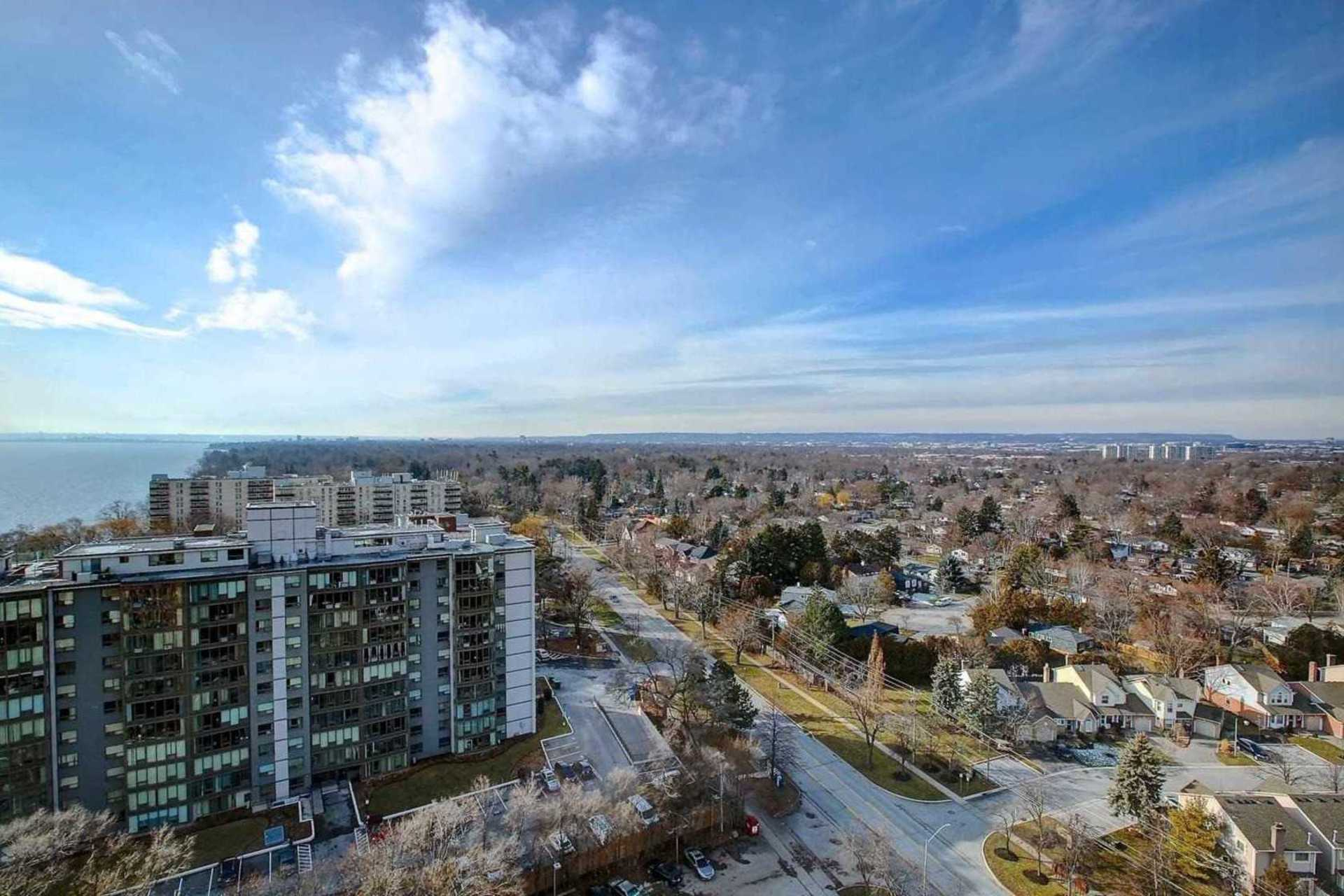 View from Balcony at 1809 - 5250 Lakeshore Road, Appleby, Burlington