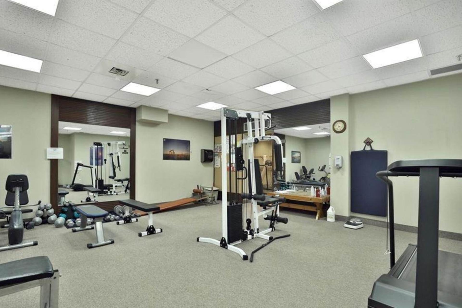 Fitness Room at 1809 - 5250 Lakeshore Road, Appleby, Burlington