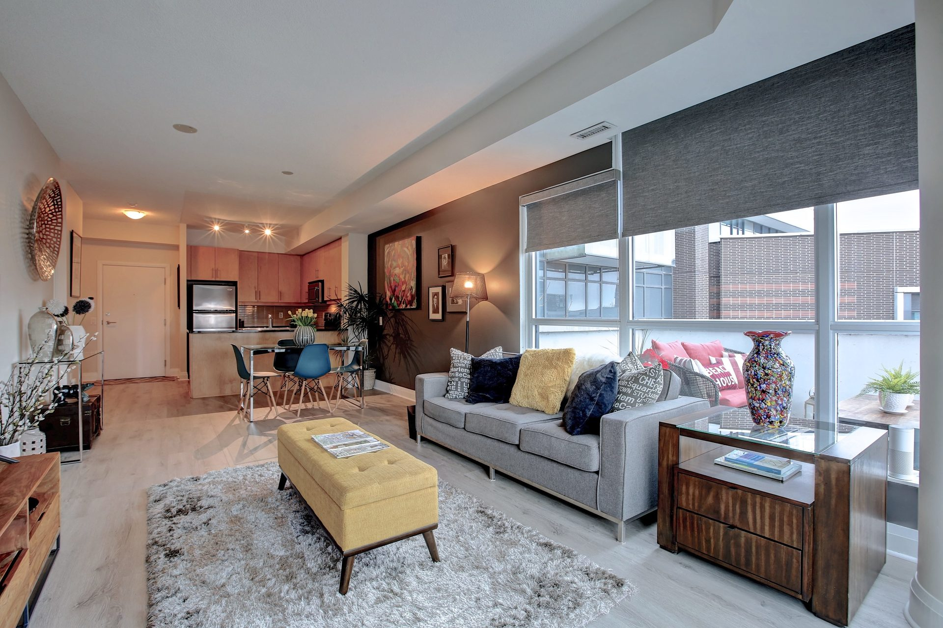 206-1 Hurontario St-Open Concept Dining/Living at 206 - 1 Hurontario Street, Port Credit, Mississauga