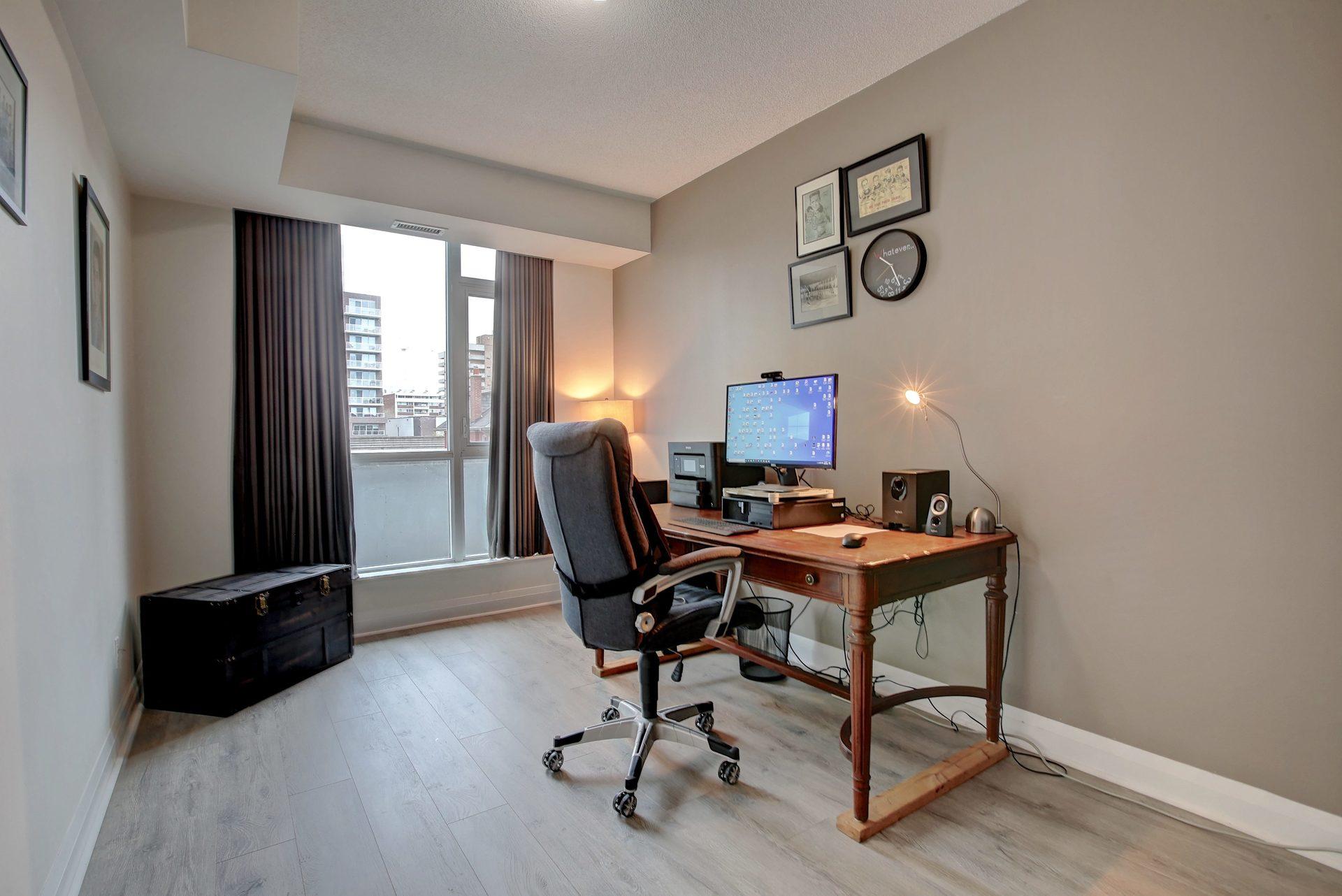 206-1 Hurontario St-Bedroom at 206 - 1 Hurontario Street, Port Credit, Mississauga