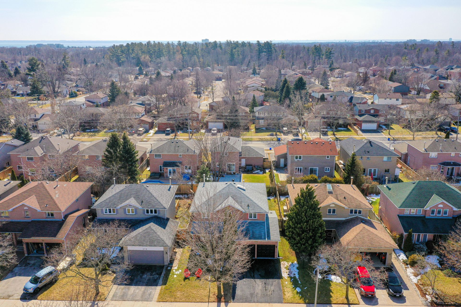 274 Honeyvale Road-Aerial View at 274 Honeyvale Road, Bronte West, Oakville