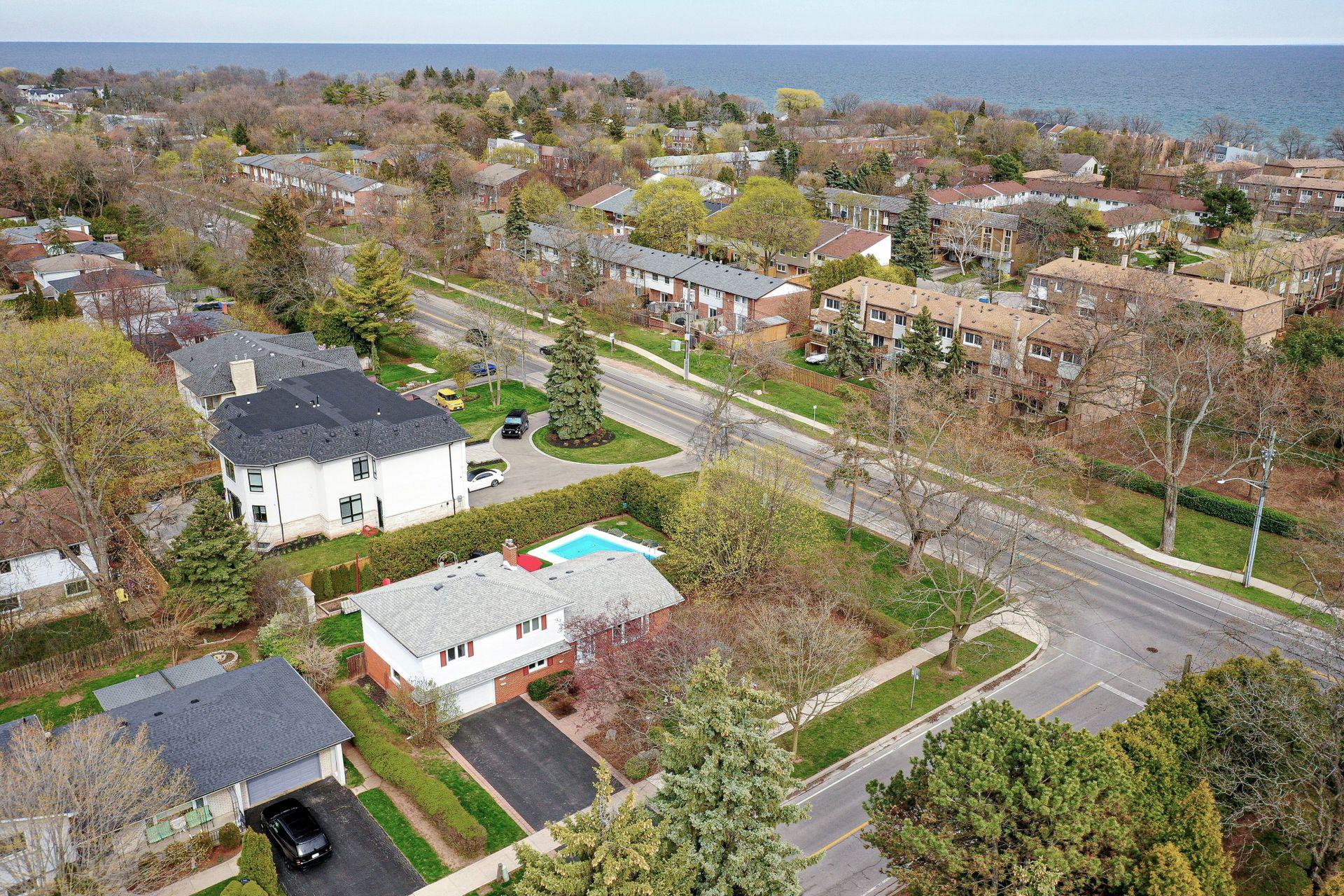 101-solingate-dr-oakville-aerial at 101 Solingate Drive, Bronte West, Oakville