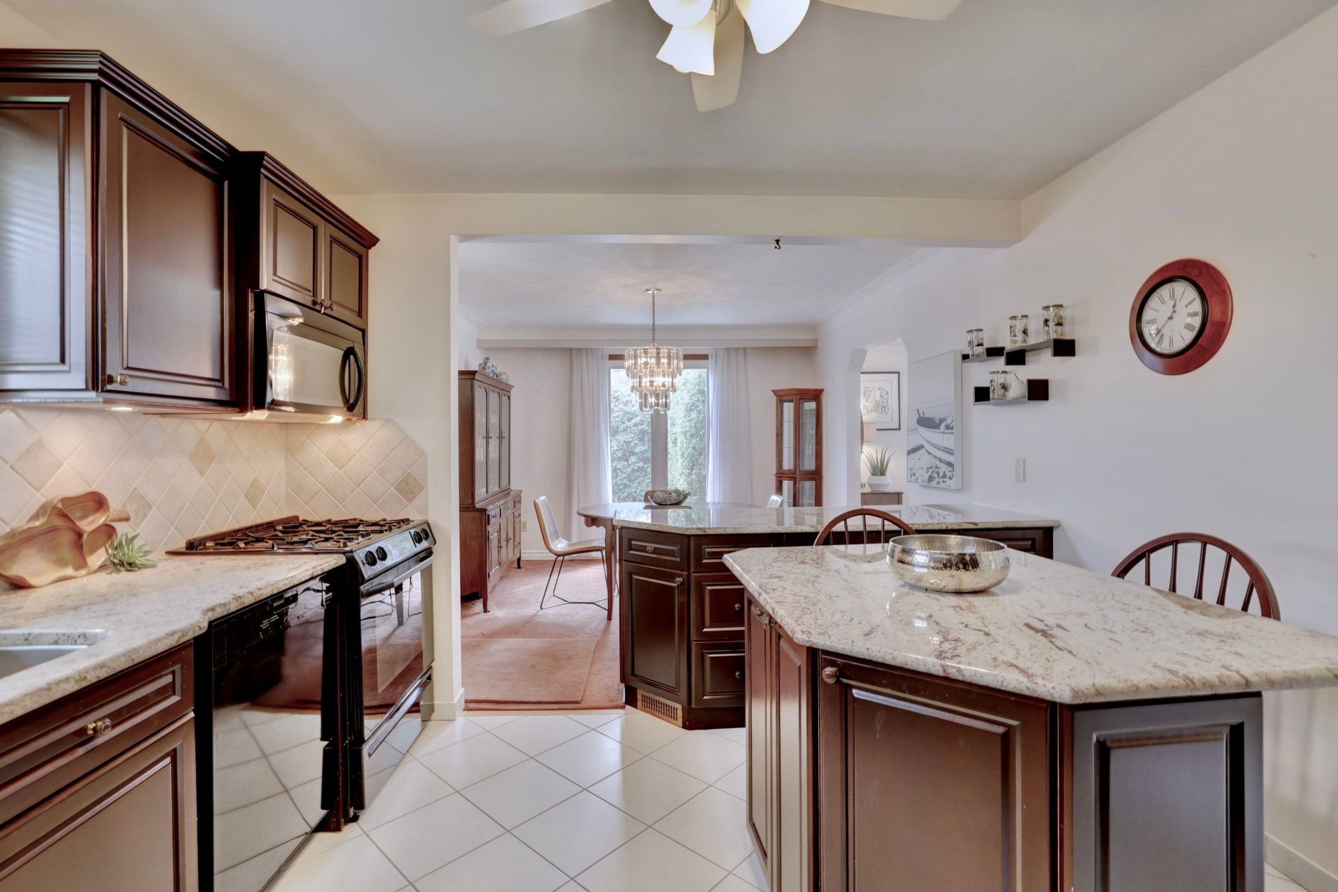 101-solingate-dr-oakville-kitchen-to-dining at 101 Solingate Drive, Bronte West, Oakville
