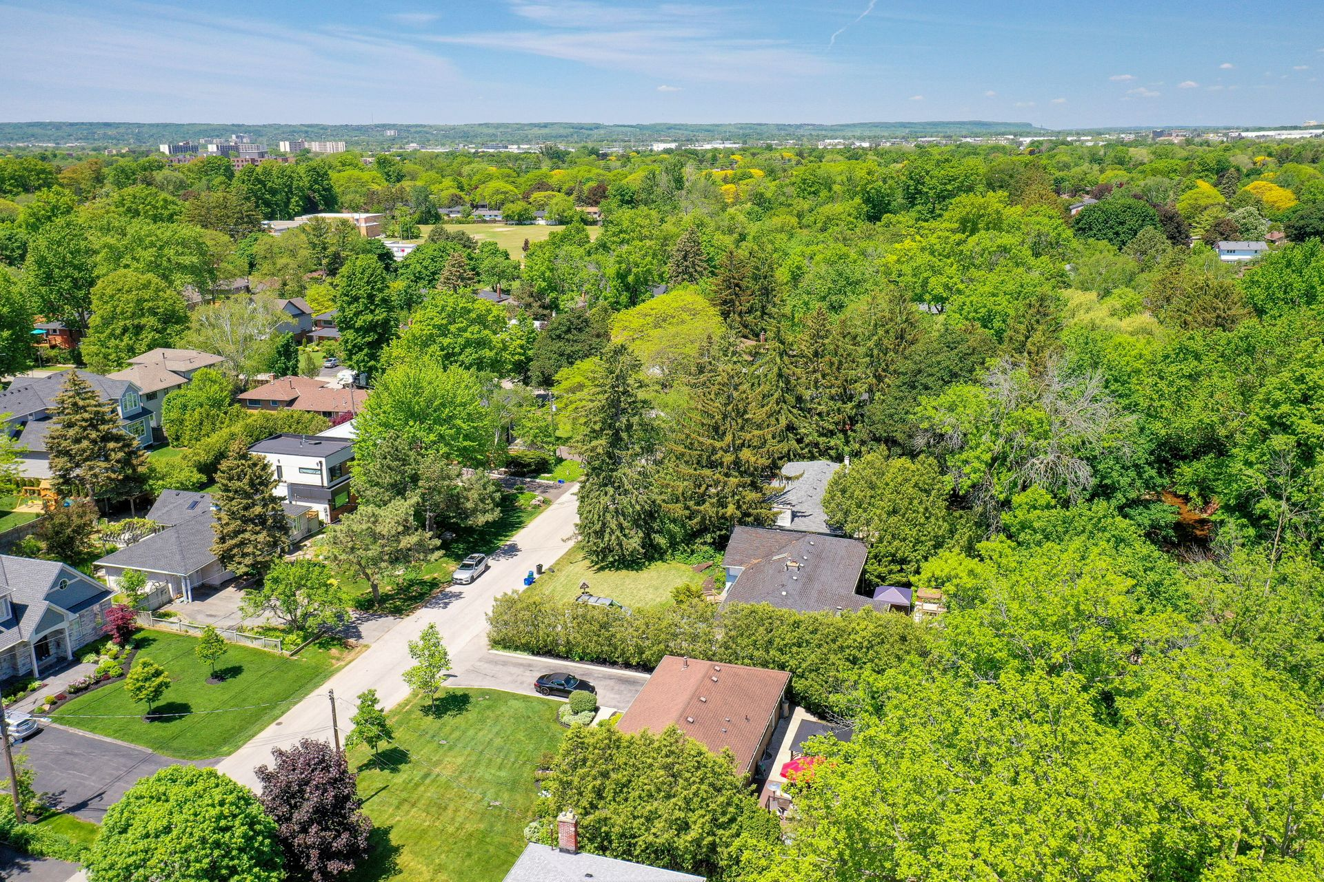249-lakeview-ave-burlington-aerial-view-to-school at 249 Lakeview Ave, Burlington,
