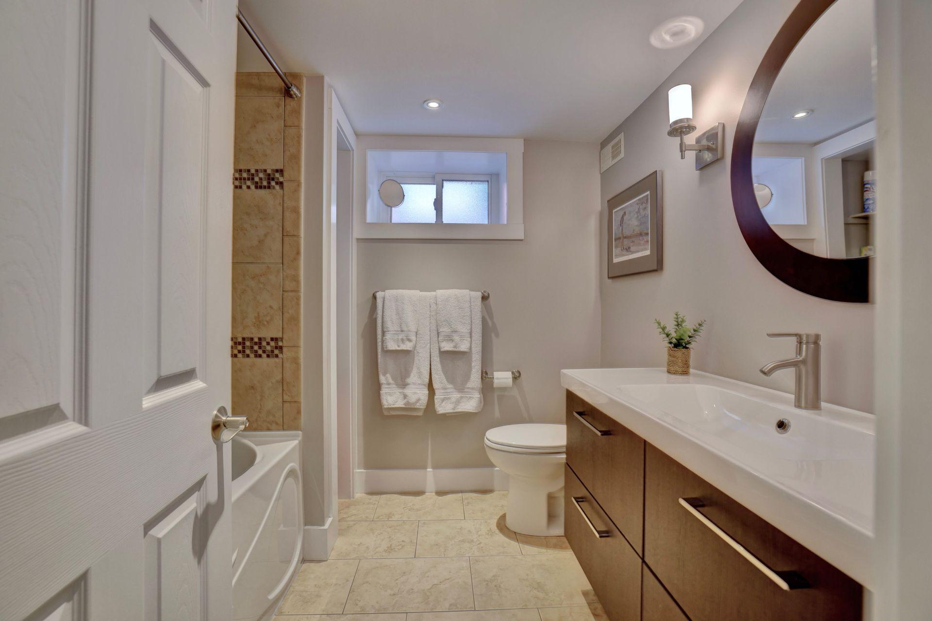 249-lakeview-ave-burlington-lower-level-bath at 249 Lakeview Ave, Burlington,