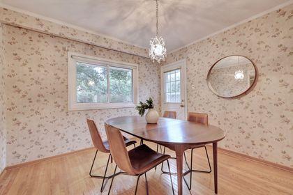 Dining Room with Side Entrance at 2205 Elmhurst Avenue, Oakville