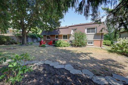 Back Yard at 2205 Elmhurst Avenue, Oakville