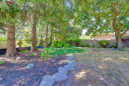 Back Yard/Gardens at 2205 Elmhurst Avenue, Oakville