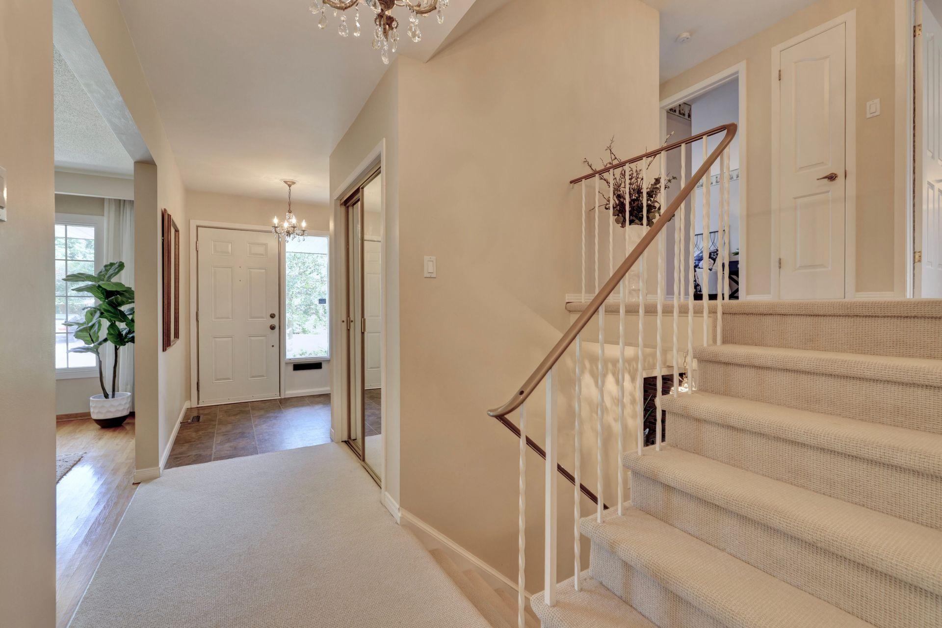 Stairs and Foyer at 2205 Elmhurst Avenue, Oakville