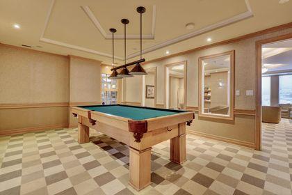 Billiard Room at 501 - 50 Old Mill Road, Oakville