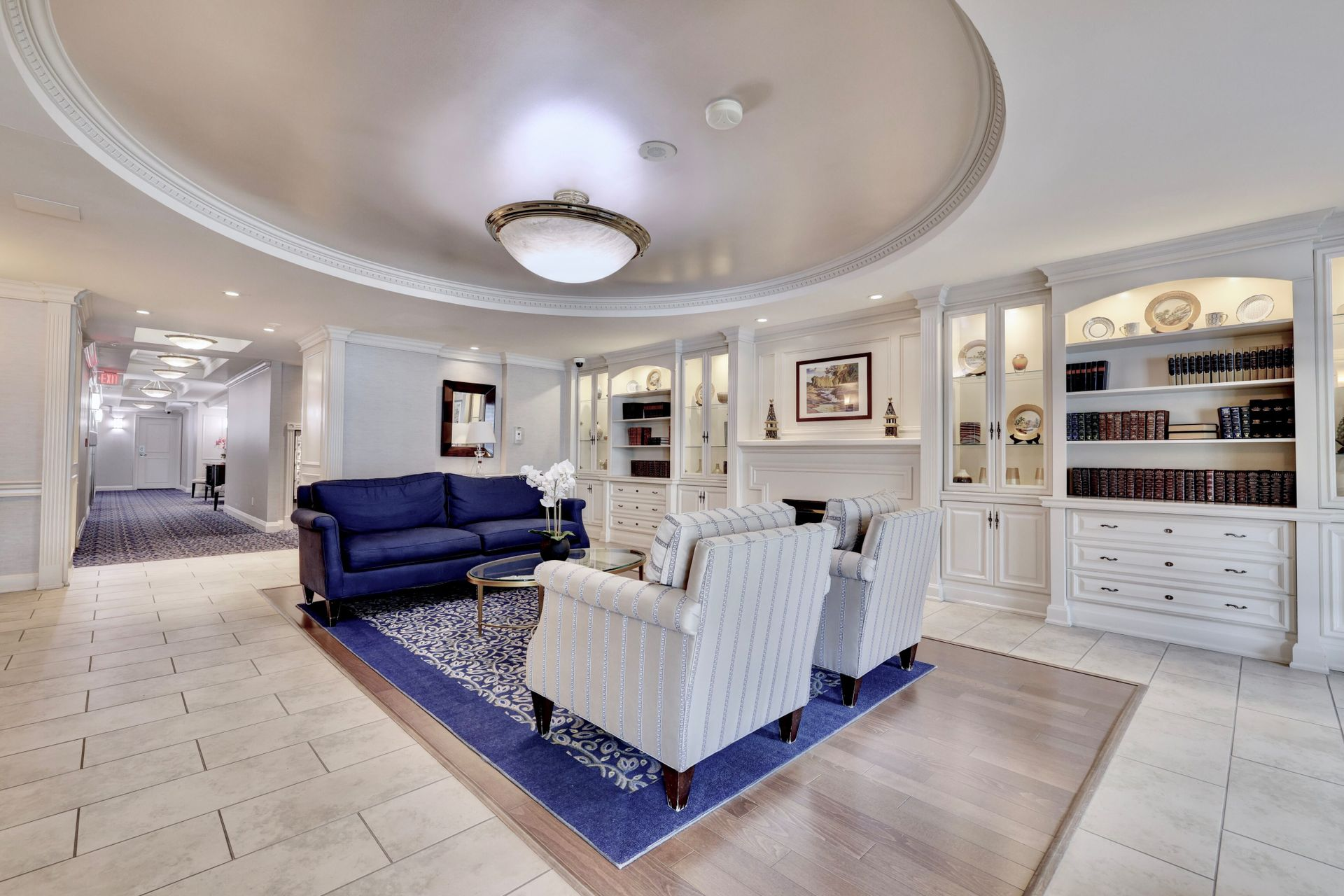 Foyer at 501 - 50 Old Mill Road, Oakville