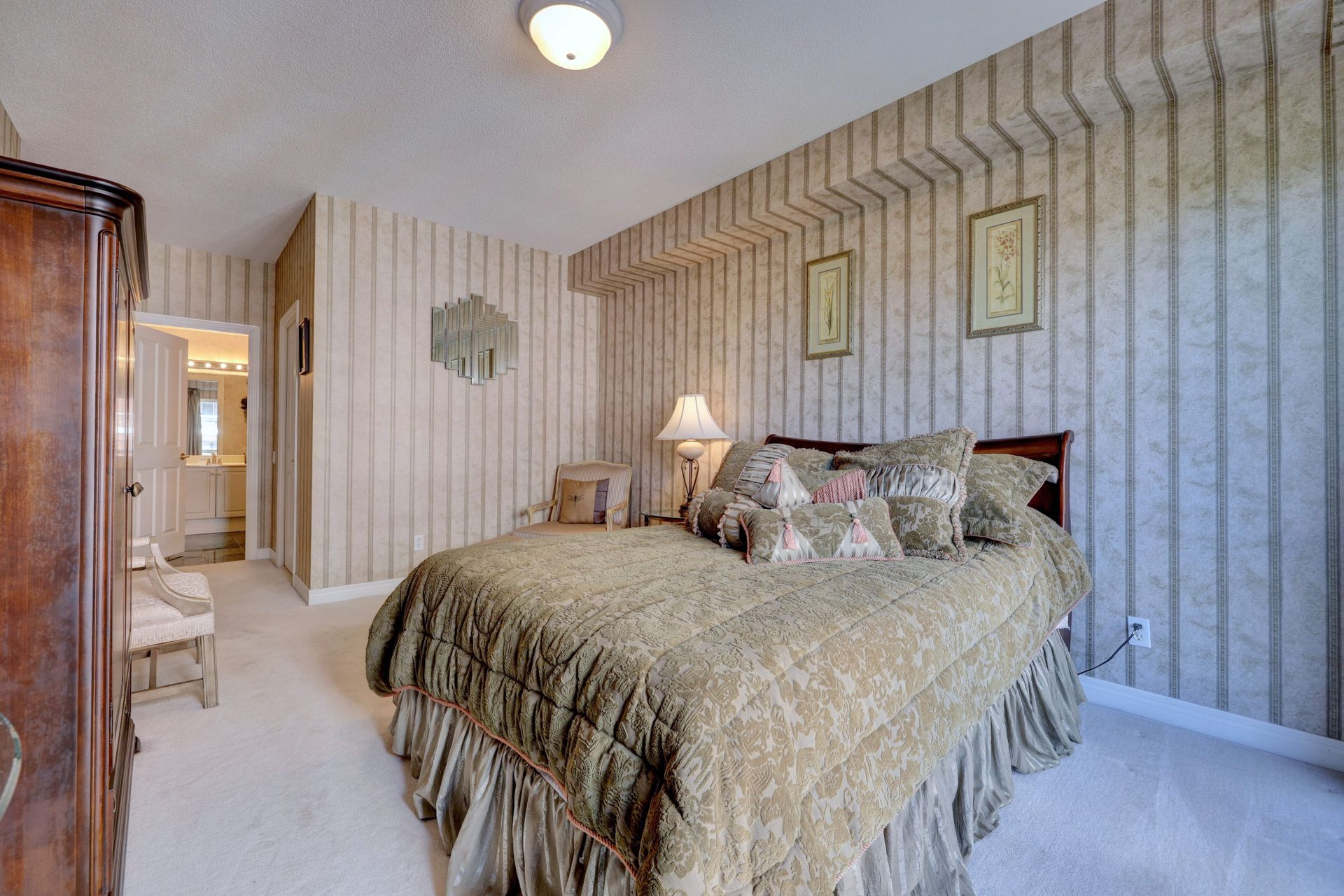 Primary Bedroom at 501 - 50 Old Mill Road, Oakville