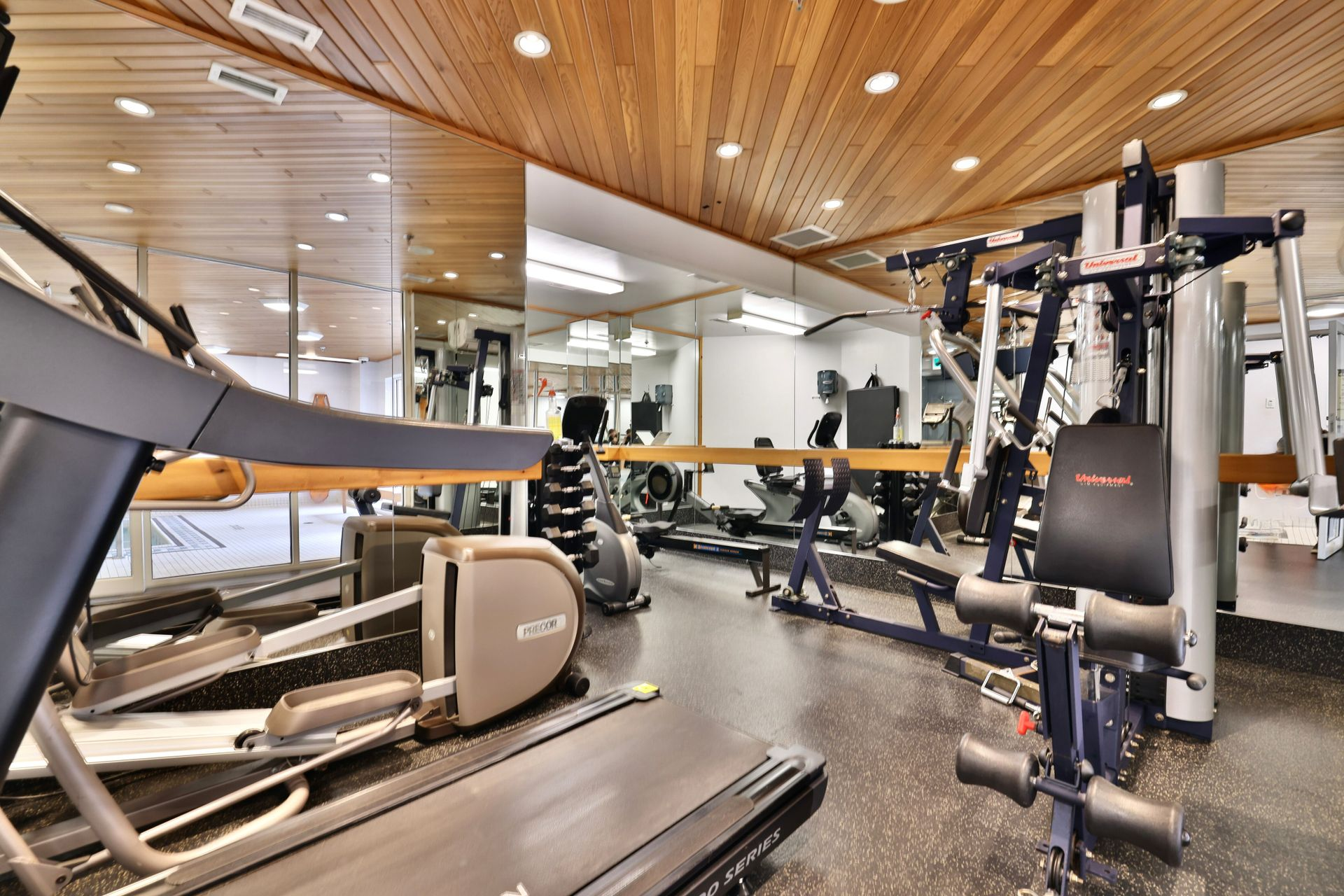 Fitness Room at 501 - 50 Old Mill Road, Oakville