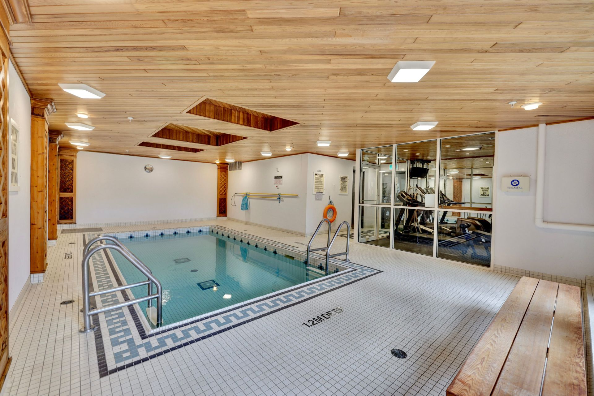 Pool at 501 - 50 Old Mill Road, Oakville