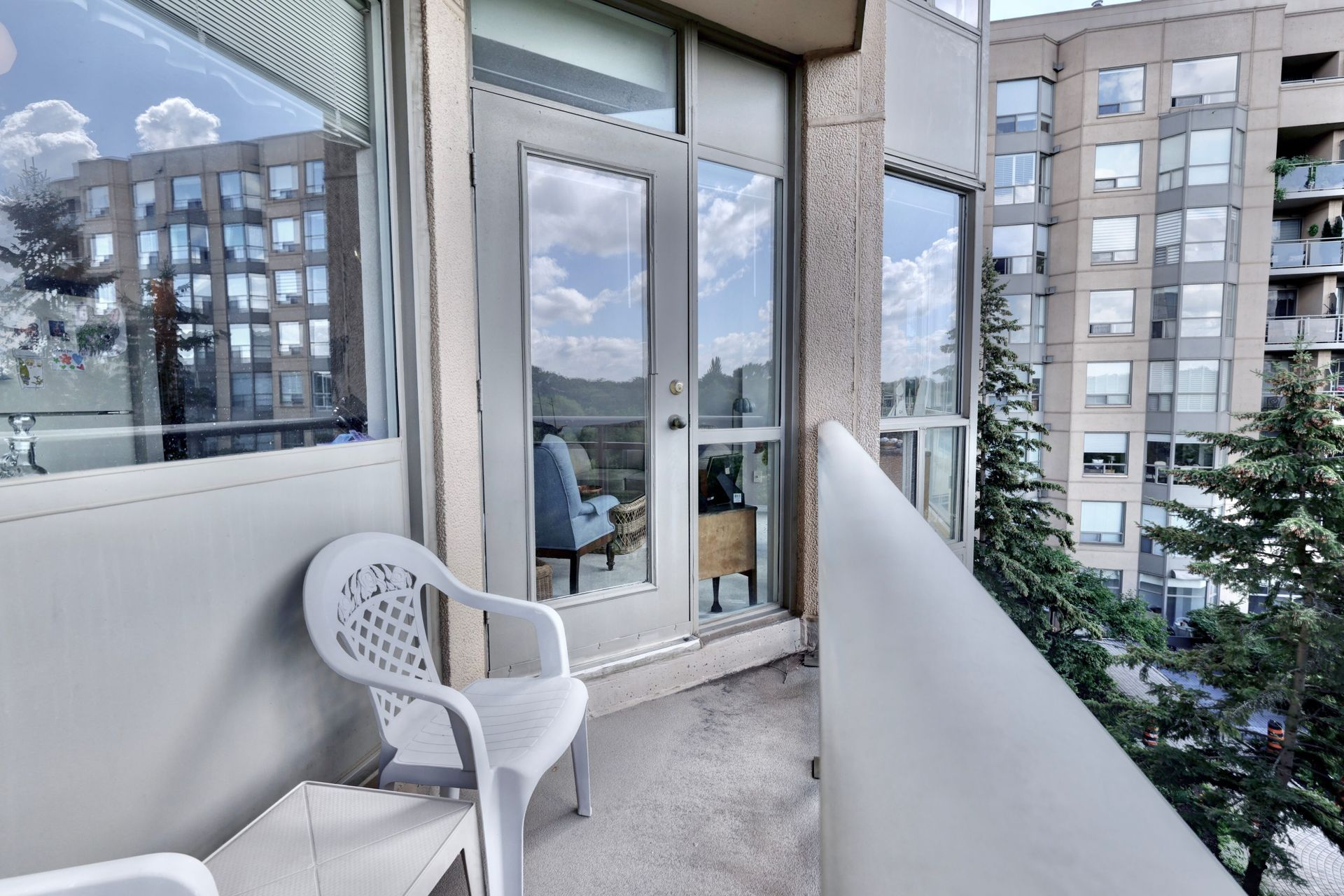 Balcony at 403 - 2511 Lakeshore Road West, Bronte West, Oakville