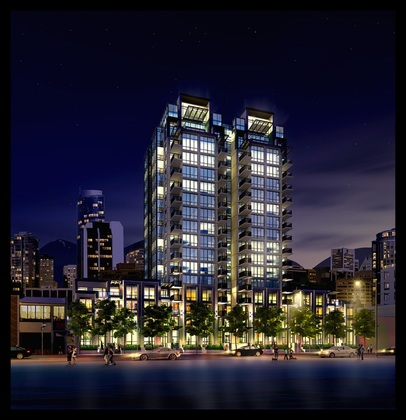 Final-Donovan-Rendering-699-high at 1055 Richards Street, Yaletown, Vancouver West