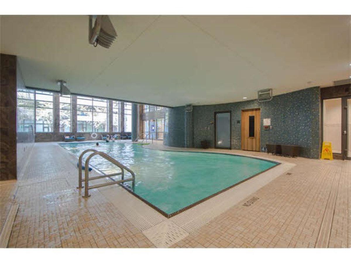 Pool at 404 - 1633 Ontario Street, False Creek, Vancouver West