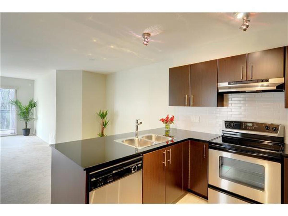 Living Room at 428 - 1633 Mackay Avenue, Pemberton NV, North Vancouver