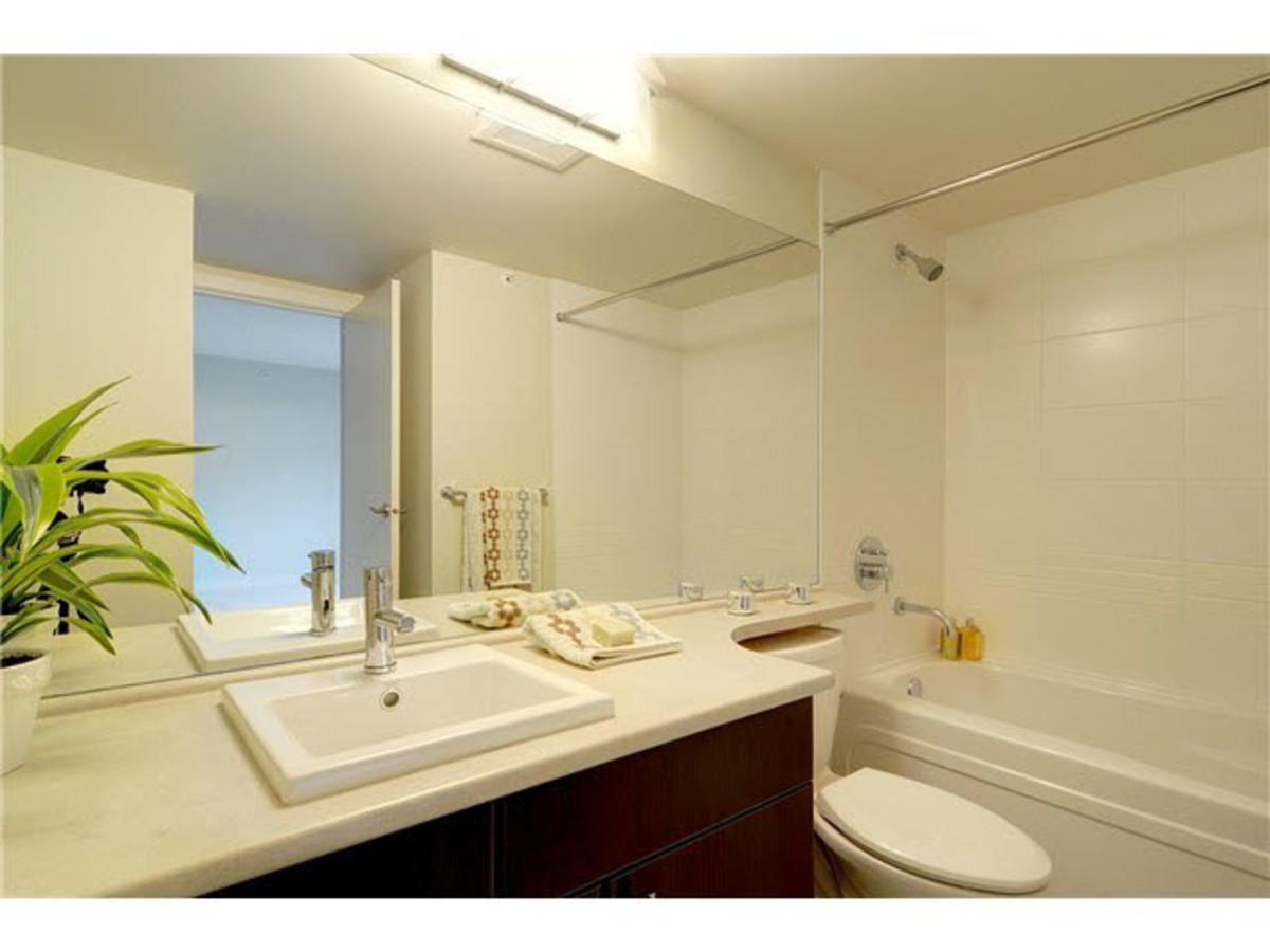 Master Bath at 428 - 1633 Mackay Avenue, Pemberton NV, North Vancouver