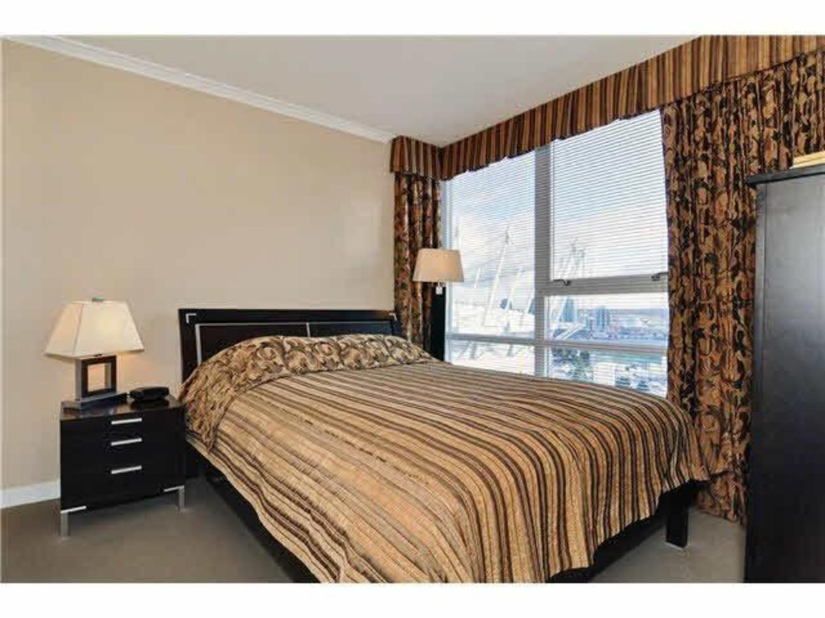 Master Bed at 2302 - 928 Beatty Street, Yaletown, Vancouver West