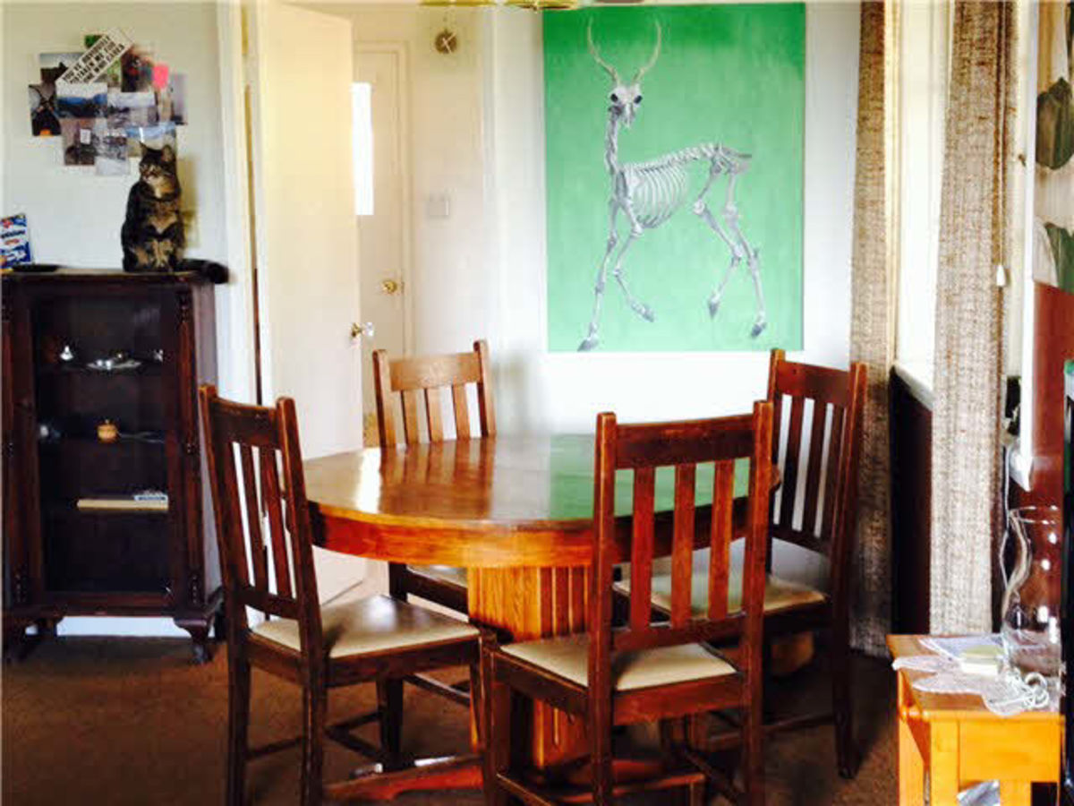 Dining Room at 242 W Kings Road, Upper Lonsdale, North Vancouver