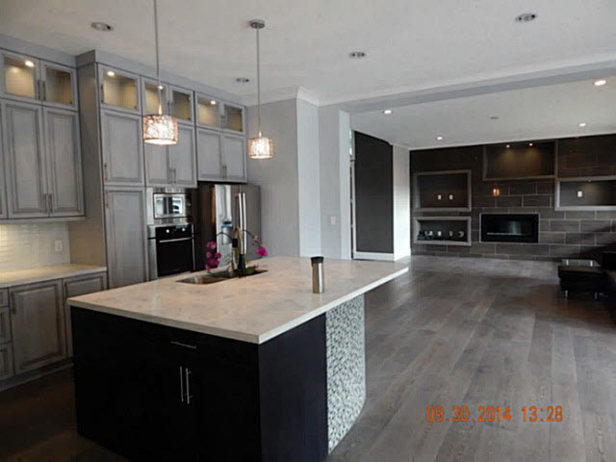 Kitchen at 3486 Wales Avenue, Burke Mountain, Coquitlam