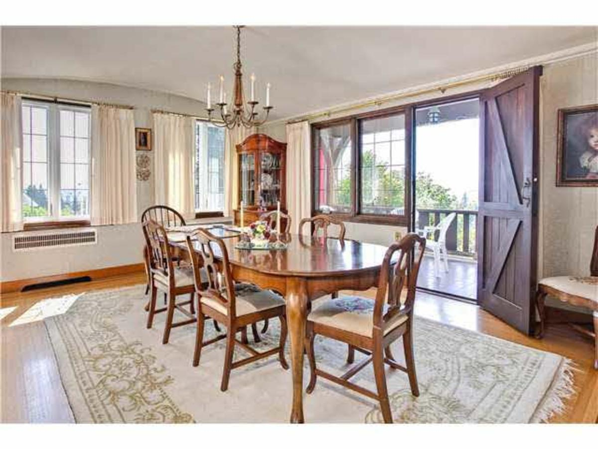 Dining room at 2288 Mathers Avenue, Dundarave, West Vancouver