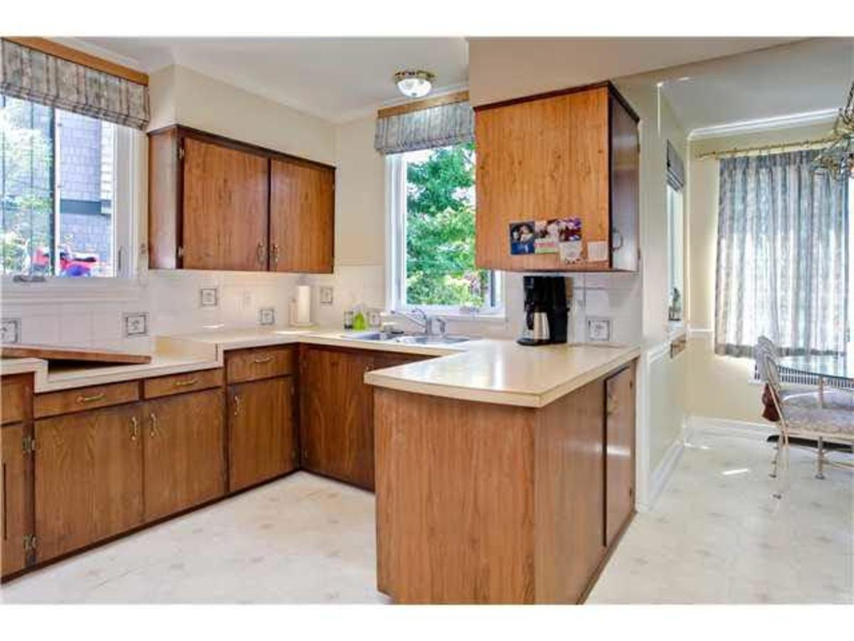 Kitchen at 2288 Mathers Avenue, Dundarave, West Vancouver